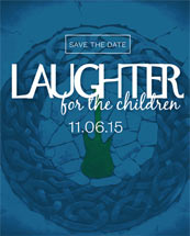 Monroe Harding Hosts Laughter for the Children at Rocketown on 11-6-15