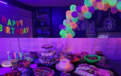 Healing – A Glow Party for a Glowing and Growing Girl!